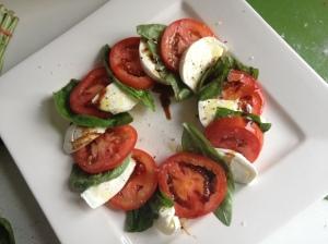 Caprese Salad - looks AS good as it tastes!!