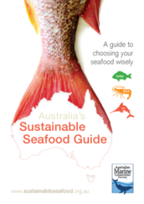 Australia's Sustainable Seafood Guide - image credit AMCS