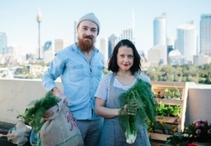 The amazing Talia & Ed - image from The Local Harvest Collective website