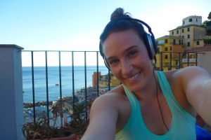 Workout with a dream view in Italy!