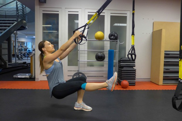 TRX and body weight work can be both highly effective and challenging.