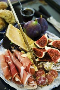 fig & cheese plate