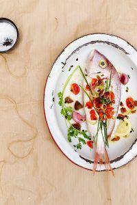 Spanish inspired fish from La Tartine Gourmande