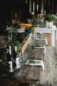 Table setting inspiration. Photo by Kristy N Hogan