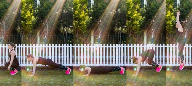 burpee how to | Nadia Felsch