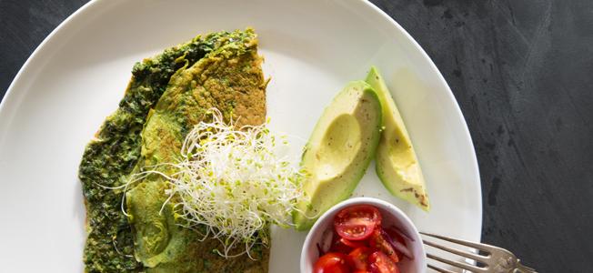 green omelette | Nadia Felsch