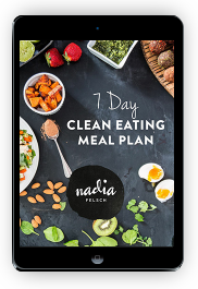 Clean Eating Meal Plan | Nadia Felsch